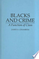 Blacks and Crime