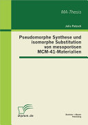 "download ebook pseudomorphe synthese und isomorphe substitution von mesopor""sen mcm-41-materialien pdf epub"