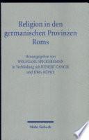 Religion in den germanischen Provinzen Roms