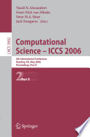 Computational Science - ICCS 2006