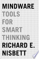Ebook Mindware Epub Richard E. Nisbett Apps Read Mobile