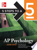5 Steps to a 5 AP Psychology  2008 2009 Edition