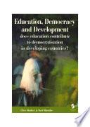 Education  Democracy and Development