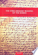The Syro Aramaic Reading of the Koran