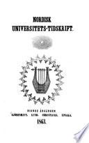 Nordisk universitets tidskrift