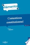 illustration Contentieux constitutionnel - 2e ed.