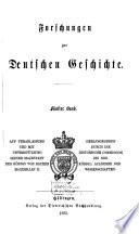Forschungen zur deutschen Geschichte