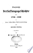 Franz  sische Verfassungsgeschichte