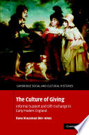 The Culture of Giving