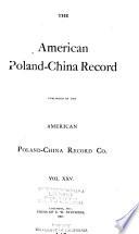 American Poland China Record