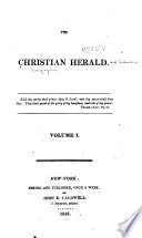 Christian Herald and Seaman s Magazine