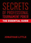 Secrets Of Professional Tournament Poker Book
