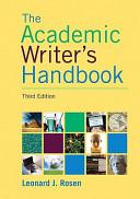 The Academic Writer S Handbook