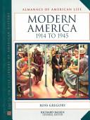 Modern America  1914 to 1945