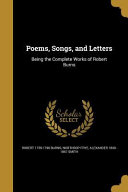 POEMS SONGS & LETTERS