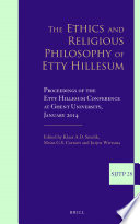 The Ethics and Religious Philosophy of Etty Hillesum