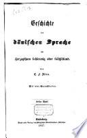 Geschichte der dänischen Sprache und Nationalität im Herzogthum Schleswich oder Südjütland