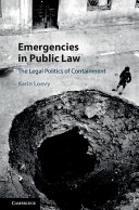 Emergencies in Public Law