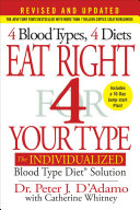 download ebook eat right 4 your type (revised and updated) pdf epub