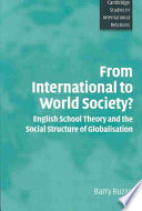 From International to World Society
