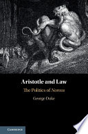 Aristotle and law : the politics of nomos document cover