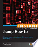 Instant Jsoup How To