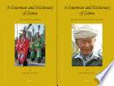A Grammar and Dictionary of Zaiwa  2 Vols