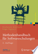 Methodenhandbuch f  r Softwareschulungen