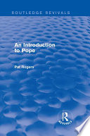 An Introduction to Pope (Routledge Revivals)