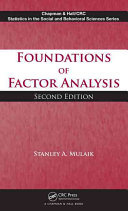 Foundations of factor analysis