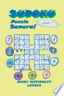 Sudoku Samurai Puzzle, Volume 3