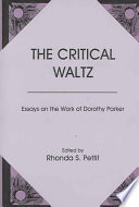The Critical Waltz