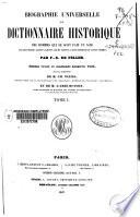 Biographie universelle ou Dictionnaire historique des hommes qui se sont fait un nom