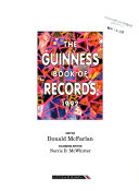 The Guinness Book of Records 1992