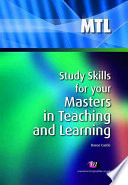 Study Skills for your Masters in Teaching and Learning