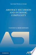 Abstract Recursion and Intrinsic Complexity Book PDF