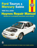Ford Taurus   Mercury Sable 1996 thru 2005