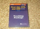 Advanced First Aid  Cpr  and Aed  Sixth Edition Teaching Package