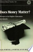 Does Money Matter