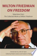 Milton Friedman on Freedom