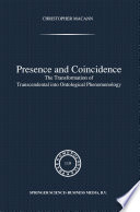 download ebook presence and coincidence pdf epub