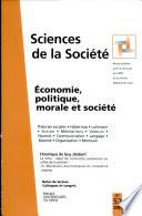 Economie, politique, morale et société