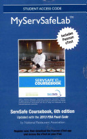 Myservsafelab with Pearson Etext    Access Card    For Servsafe Coursebook 6e Revised