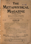 Metaphysical Magazine