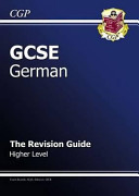 GCSE German Revision Guide   Higher