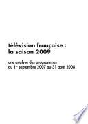 Télévision française : la saison 2009