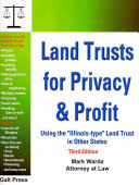 Land Trusts for Privacy   Profit