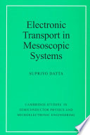 illustration Electronic Transport in Mesoscopic Systems