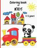 Coloring Book For Kids 3 5 Years