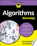 illustration du livre Algorithms For Dummies